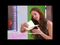 Camila reading a letter