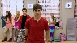 Leon in dance class