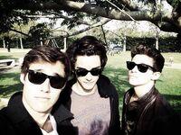 Jorge, Ruggero and Xabiani