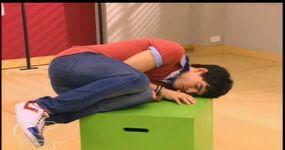 Andrés sleeping