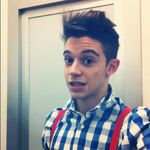 Ruggero with spiky hair