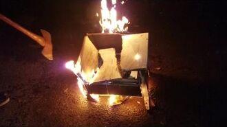 XBOX ONE S FIERY DESTRUCTION PRANK!!!