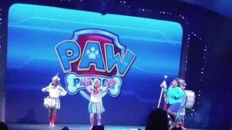 Zach attack Zachary goes to see Paw Patrol Live part 2