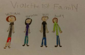 Fan Art of the Violette1st Family