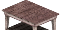 Shelf table