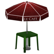 Cafe table redirect