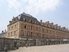 Palace of Versailles Front 7