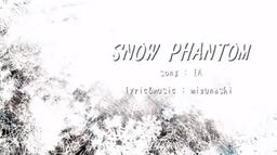 """Image of """"SNOW PHANTOM"""""""