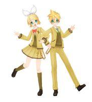 Rin len school wear