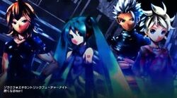 Zola Miku ★ Eccentric Future Night Samfree