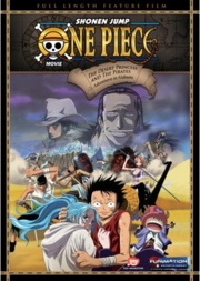 One Piece The Movie - Episode of Alabasta - The Deser Princess and the Pirates DVD Cover