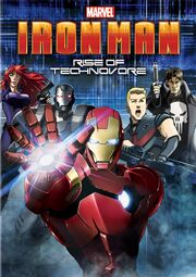 Iron Man Rise of Technovore DVD Cover