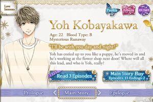 Yoh Kobayakawa - Profile