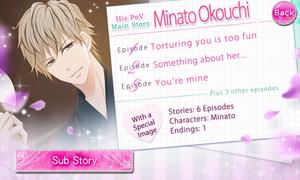 His PoV - Main Story - Minato Okouchi - Profile