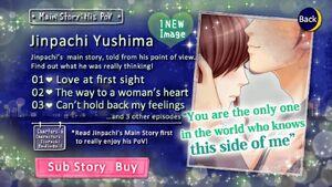 His PoV - Main Story - Jinpachi Yushima - Profile