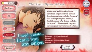 The Exotic Spices of Love