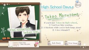 High School Days ~Takao~