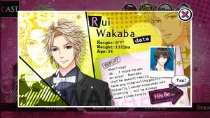 Rui Wakaba - Profile