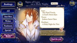 Signs of Love on a Holy Night - Wishes