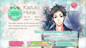 Kazuto Horai - Profile