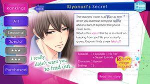 Kiyonori's Secret infobox