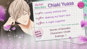 His PoV - Main Story - Chiaki Yuasa - Profile