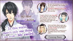 Hajime Saito - Profile