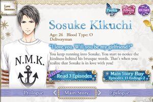 Sosuke Kikuchi - Profile