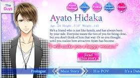 Ayato Hidaka character description (1)