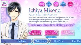 Ichiya Misono character description (1)