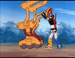 Ep.35.142 - Golion grappling with Death Builder