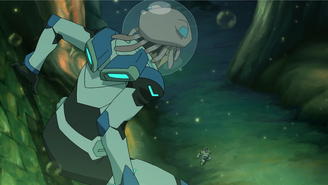 File:S2E02.250. Good dorsal view of Lance's armor jetpack deployed.png