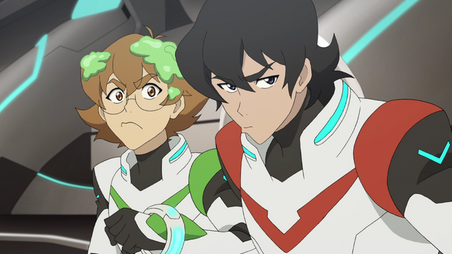File:65. Pidge and Keith give Allura the stink eye.png
