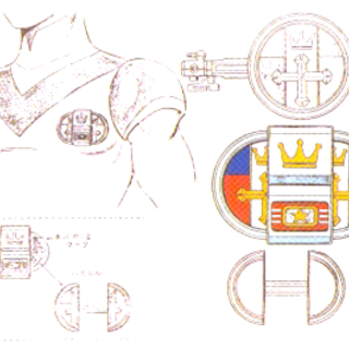 Accessory design for the key that was used in show