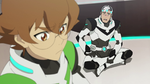 Shiro & Pidge during mental exercise