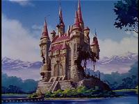 Screen-ruined castle altea