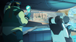 127. Hunk and Lance fight to get to Yellow (study cockpit)