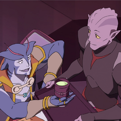 Honestly, that Galra could be female. So could Blaytz. Neither. Not enough info to go fighting over.