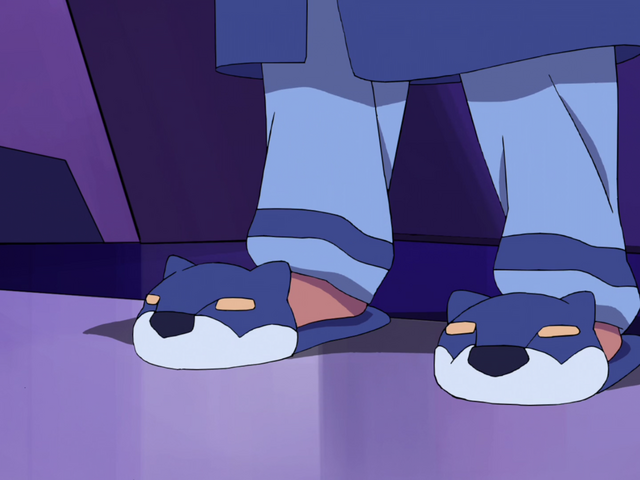 File:Lance's Blue Lion Slippers.png