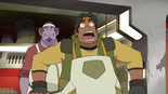 S2E07.225. Hunk is busted by the literal fuzz