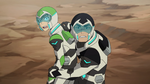 48. Shiro struggles with a protesting Pidge 2