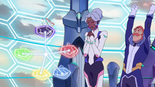 208. Allura and Coran relieved at having all the lions