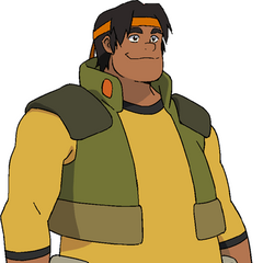 Hunk's casual outfit.