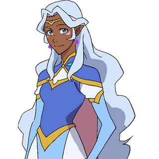 Allura's casual outfit.