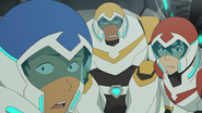 S2E03.141. Lance Hunk Keith frozen at the sight