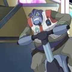 The Voltron version of Paul Blart Mall Cop.