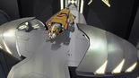 S2E09.39. Yellow Lion in hir hangar