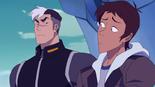 70. Shiro gives Lance the Team Dad glare