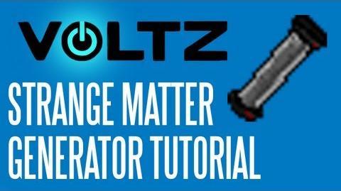 Voltz Tutorial Strange Matter Generator