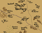 Dust Valley map
